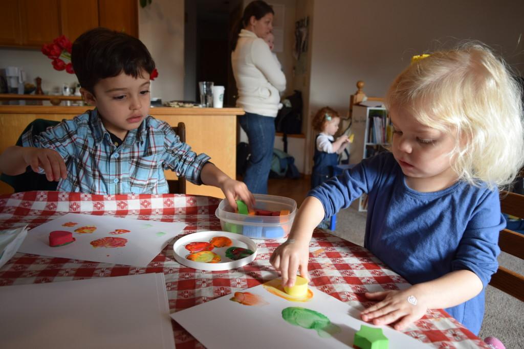 Shapes curriculum for homeschool preschool with activities